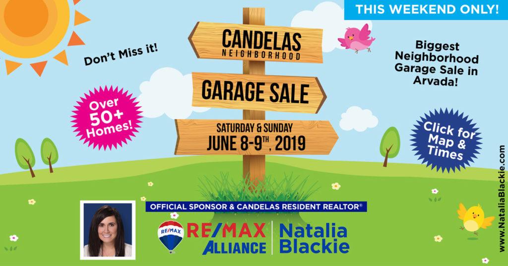 Candelas Community Garage Sale Natalia Blackie Realtor Re Max